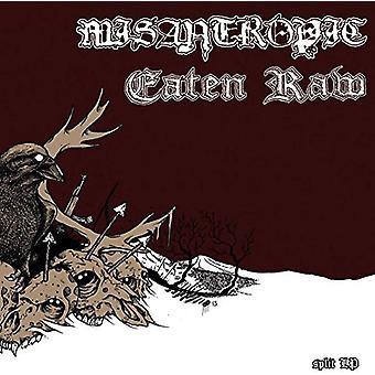 Misantropic / spist rå - Split [Vinyl] USA import