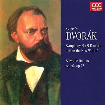 A. Dvorak - Antonin Dvorak: Sinfonía nº 9 del nuevo mundo; Danzas eslavas [CD] USA importar