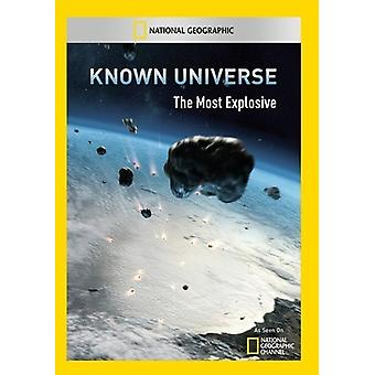 Znanego wszechświata: Importowanie najbardziej wybuchowych USA [DVD]