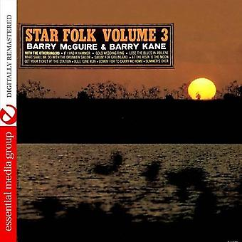 McGuire, Barry & Barry Kane/the Other Singers - McGuire, Barry & Barry Kane/the Other Singers: Vol. 3-Star Folk [CD] USA import