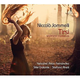 Jommelli/Fernandez/Galante/Aresi-Tirsi-sopran kantater [CD] USA import
