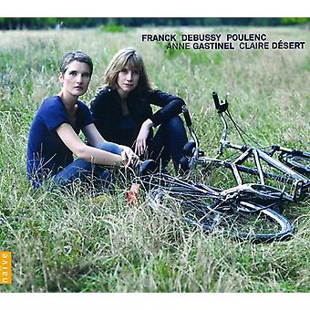 Franck/Debussy/Poulenc - fransk musik for Cello & Piano [CD] USA import