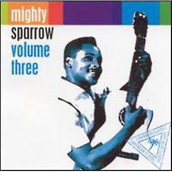 Mægtige Sparrow - Vol. 3-mægtige Sparrow [CD] USA importerer