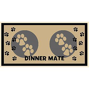 Mini Mate middag Mat creme 30x40cm (12 x 16