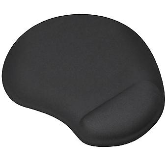 TRIXES Black Mouse Pad/Mat 'Small' with Comfort Cushion Support