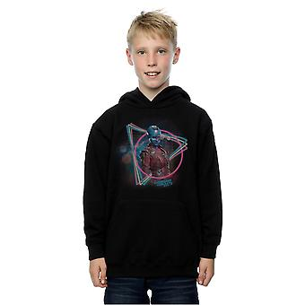 Marvel Boys Guardians Of The Galaxy Neon Nebula Hoodie