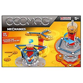 Geomag Mechanics 86 Pieces (Toys , Constructions , Characters And Animals)