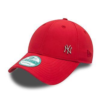 Nieuw tijdperk vlekkeloze Yankees Logo Cap - rood