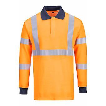 Portwest - Hi-Vis Safety Workwear Flame Resistant RIS Polo Shirt