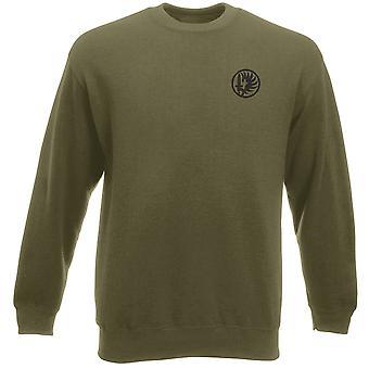 Franska främlingslegionen 2nd Paarchute Regiment - broderad Logo - Heavyweight tröja