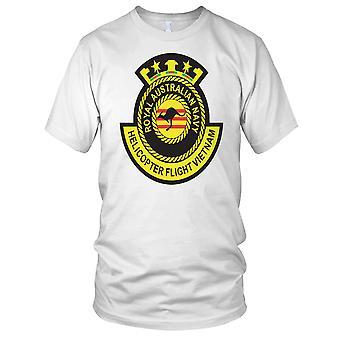 Royal Australian Navy Helicopter Flight Vietnam War Clean Effect Mens T Shirt