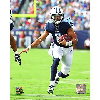 Marcus Mariota 2017 Action Photo Print