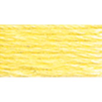 Dmc Six Strand Embroidery Cotton 100 Gram Cone Lemon Light 5214 445