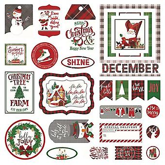Mad 4 Plaid Christmas Cardstock Die-Cuts-  MPC2878