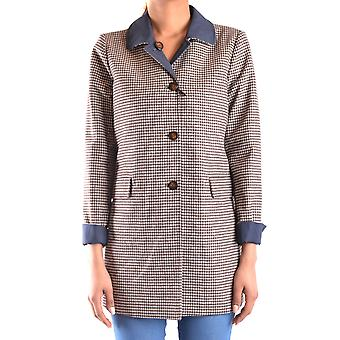 Peuterey women MCBI235126O multicolour wool coat
