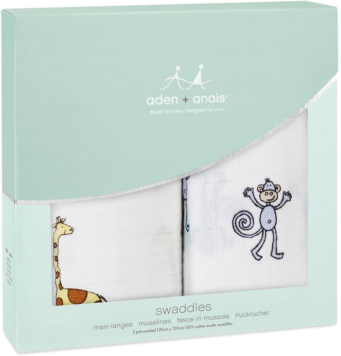 Aden + Anais Classic Swaddles 2 Pack