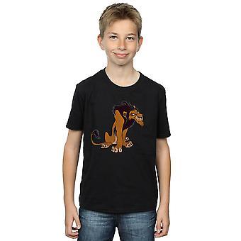 Disney Boys The Lion King Classic Scar T-Shirt
