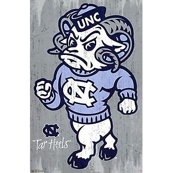 University of North Carolina - Logo 13 Poster drucken
