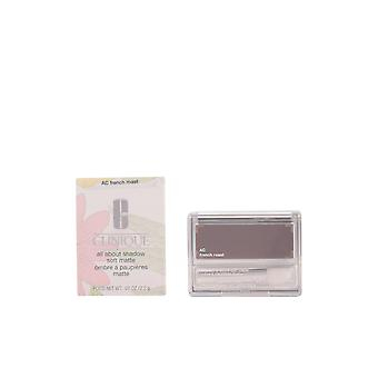 Clinique All About Shadow Soft Matte French Roast 2.2gr New Make Up Womens