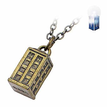 Doctor Who Tardis Charm Necklace