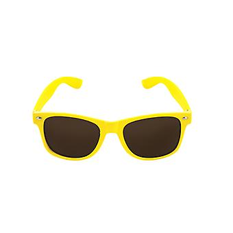 Adult Neon Framed Glasses With Dark Lense Fancy Dress Accessory