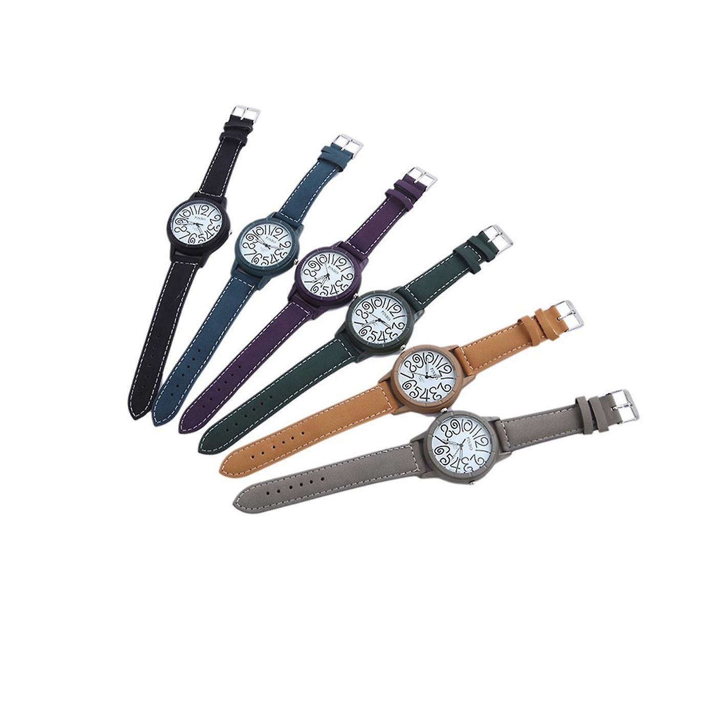 Smart Funky Watch Gray Clear Time Fashion Clock
