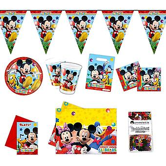 Mickey Mouse party package Disney 51-teilig kids birthday kids party