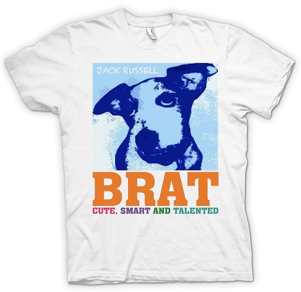 Womens T-shirt-Jack Russel Brat