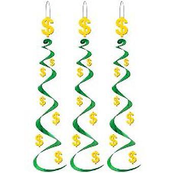 Dollartegn virvel dekorasjon