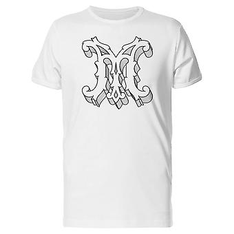 Royal Capital Letter M Tee Men's -Image by Shutterstock
