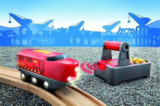 BRIO - Remote Controlled Engine 33213 for Wooden Railway