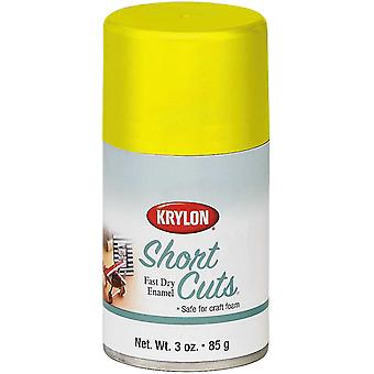Short Cuts Aerosol Paint 3oz-Sun Yellow
