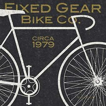 Fixed Gear Bike Co Poster Print by Michael Mullan (24 x 24)