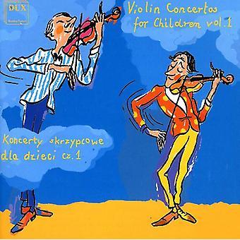 Rieding/Vivaldi/Huber/Kuechler/Seitz/Rieding/Bacew - Violin Concertos for Children, Vol. 1 [CD] USA import