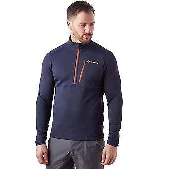 Top Montana Power Up ½ zip pull-on uomo