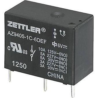 Zettler Electronics AZ9405-1C-12DEF PCB relays 12 Vdc 10 A 1 change-over 1 pc(s)
