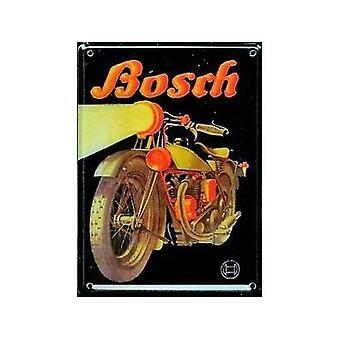 Bosch motorcykel annonce Metal postkort / Mini Tilmeld