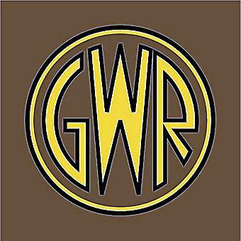 Great Western Railway Gwr Logo emailliert Stahl Wandschild