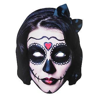 TRIXES Halloween viso maschera spaventoso signora 2D costume – parti e Dolcetto o scherzetto