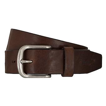 WRANGLER belt leather belts men's belts Brown 7462