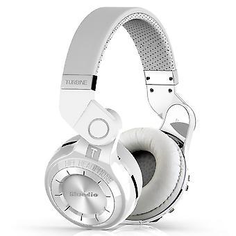 Bluedio T2 + Wireless Bluetooth Stereo koptelefoon/headset wit
