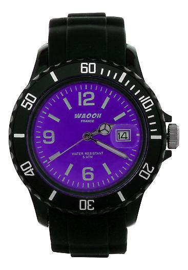 Waooh - Watch MONACO 38 Black Dial Color