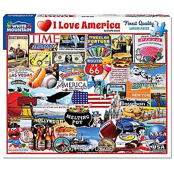 I Love America 1000 Piece Jigsaw Puzzle 760Mm X 610Mm