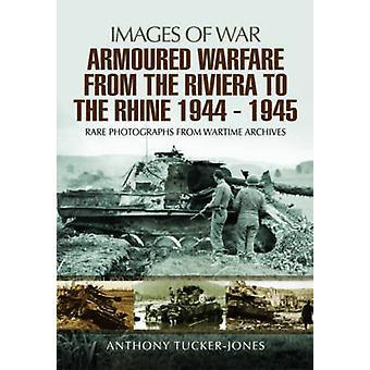 Guerre blindée de la Riviera au Rhin 1944-1945-Rare Phot
