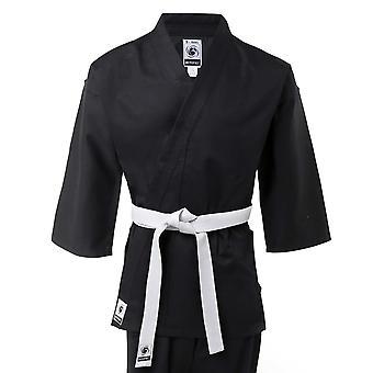 Dzieci bytomic 100% bawełna Student Karate czarny Uniform