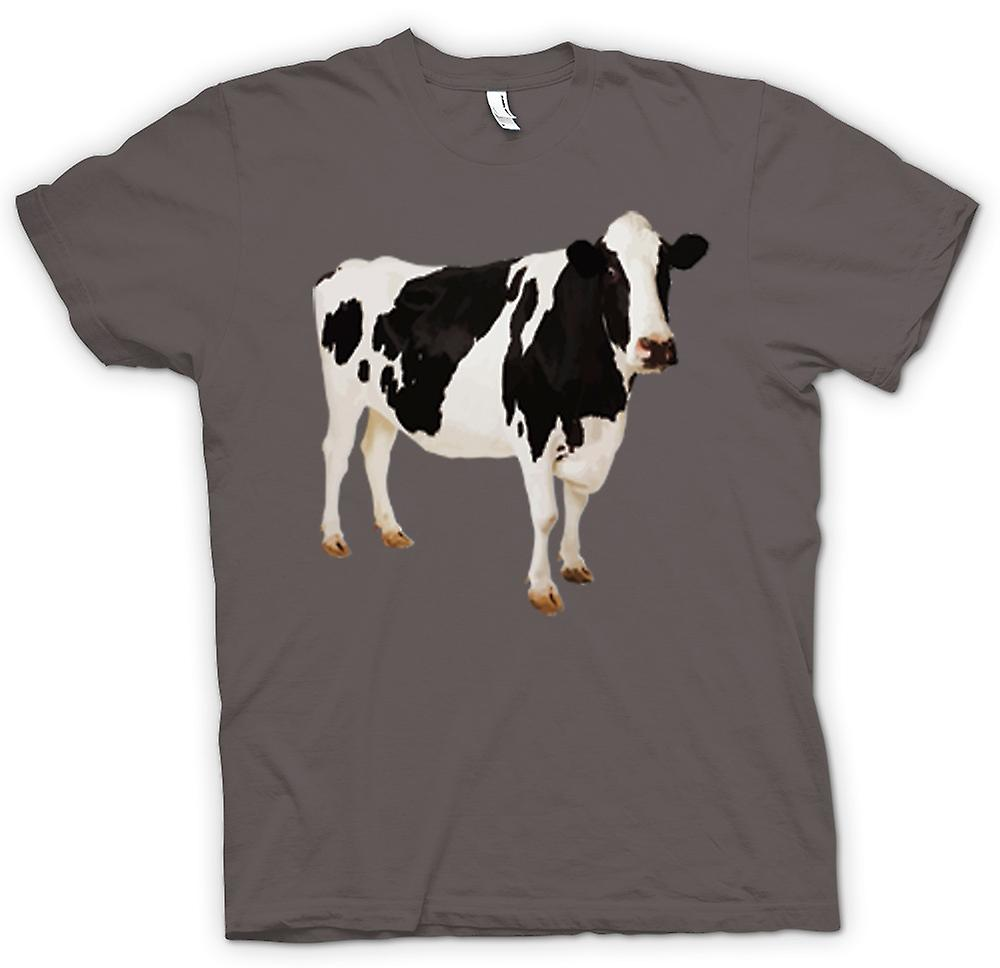Womens T-shirt - Friesian Cow - New
