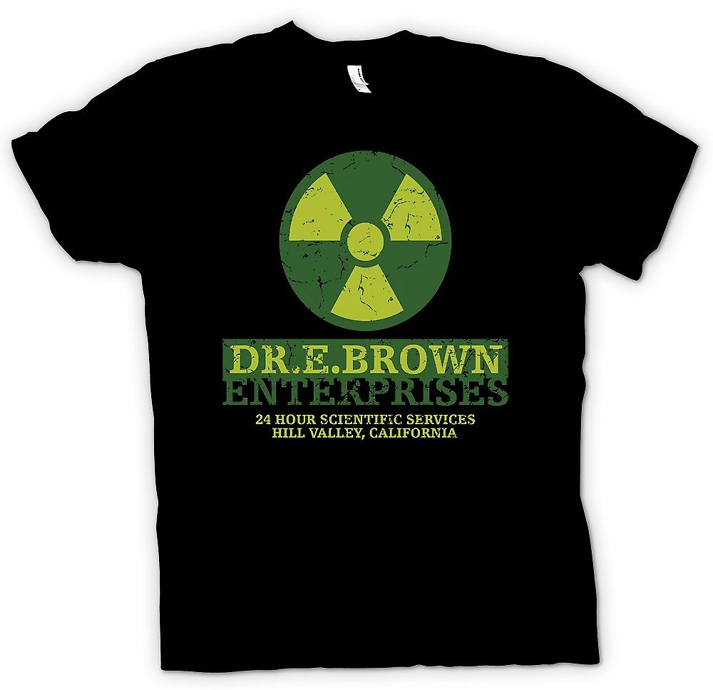 Womens T-shirt - Dr E Brown Enterprises - Back To The Future