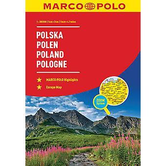 Poland Marco Polo Road Atlas by Marco Polo - 9783829736879 Book
