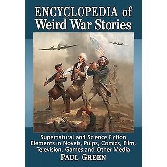 Livre de histórias de guerra estranha - sobrenatural e ficção científica E