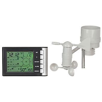 TechBrands Mini LCD Display Weather Station